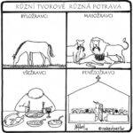 Různí tvorové různá potrava